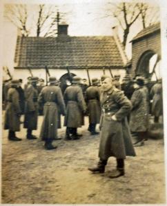 Tyskerne ankommet til Tveje Merløse kirke