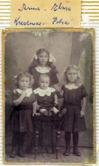 Fire Høgh piger