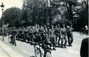 Tyskerne på vej hjem - fotohistorie-com
