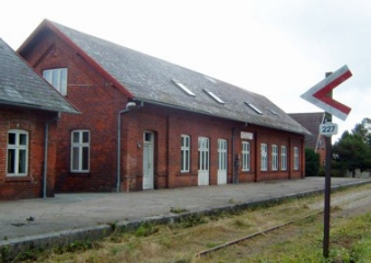 Hornum station