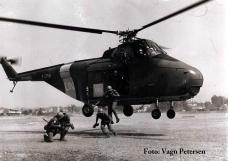 Henning Vagn Petersen Helikopter træning