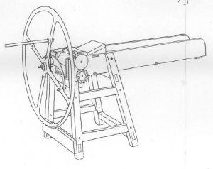 Hakkelse maskine