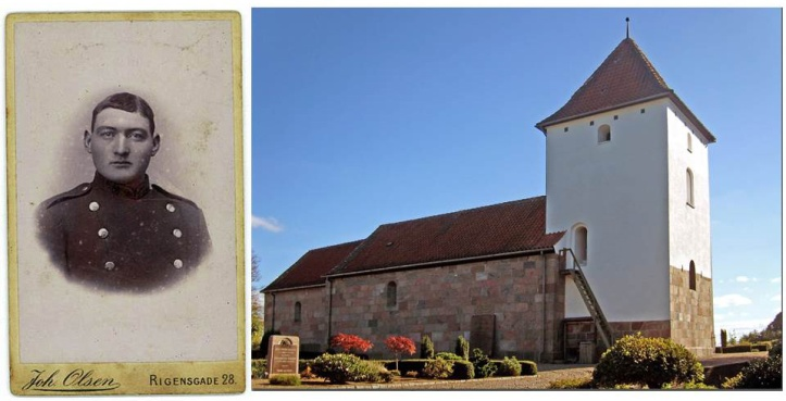 Bedstefar og Gislum kirke