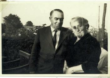 Ellen og Alfred Nielsen