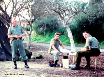 Verner Larsen A-coy havde vagten nedenfor2