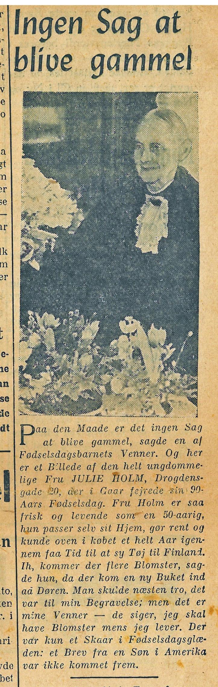 Aftenbladet 29 jan  1941