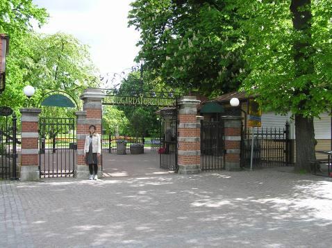 Maria ved indgangen Trädgärdsforeninge