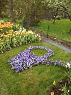 Flot blomsterdekoration