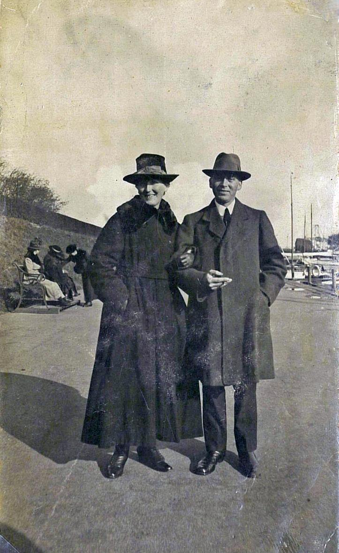 Asta og Emry Langelinie