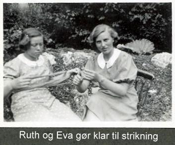 Eva og Ruth klar til at astrikke