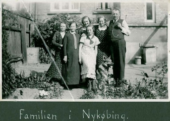 Familien i Nykøbing