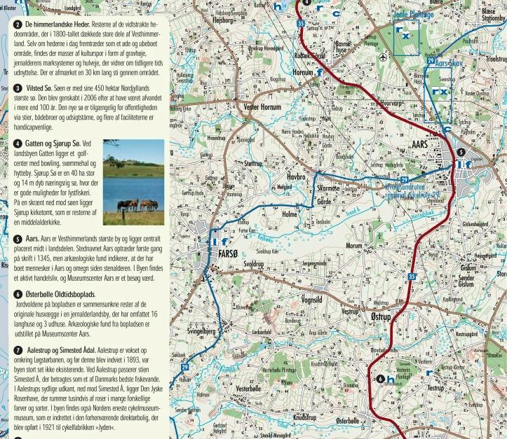 Himmerlandsstien regional cykelrute 35Tekstdel.indd