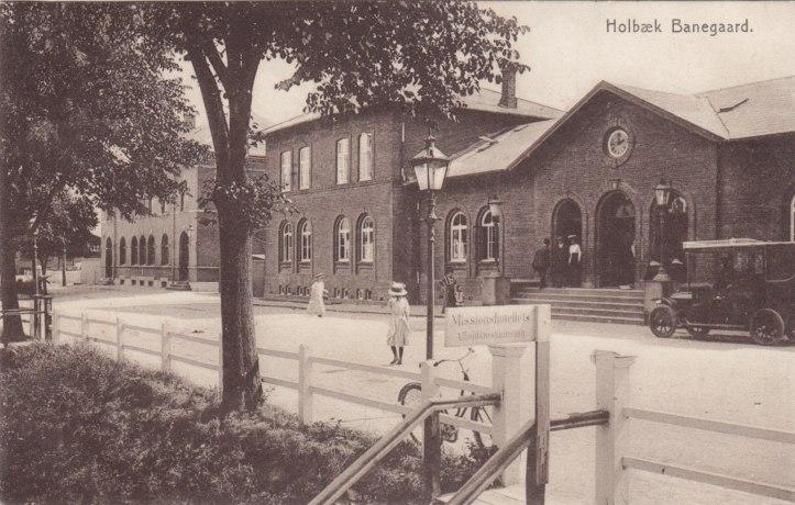 Holbæk banegård