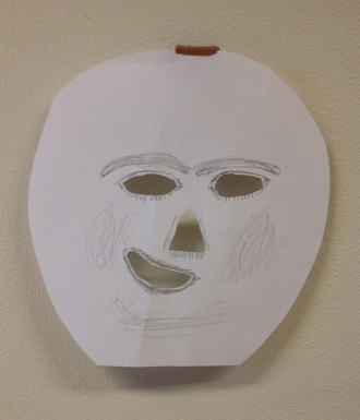 Hjemmelavet maske