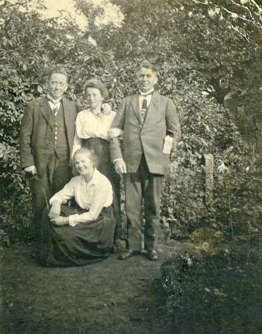 Harald, Ingeborg, Emry og Lille Ingeborg