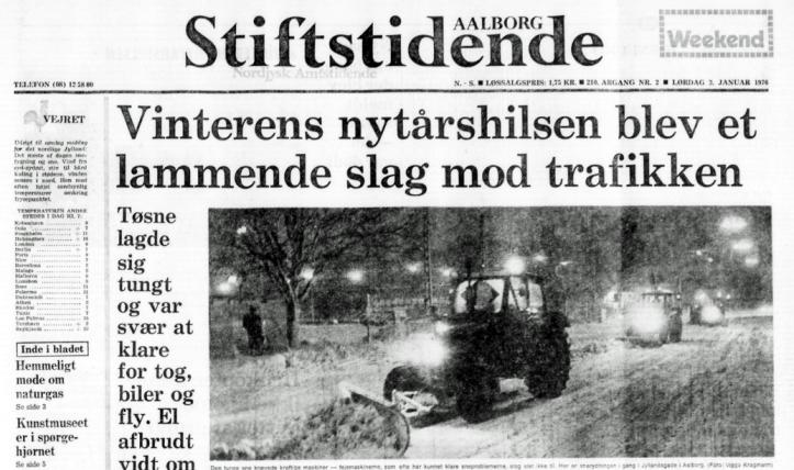 Stiftidende snefald 1975-76