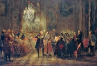 Fr. II havde musiceret med sit orkester
