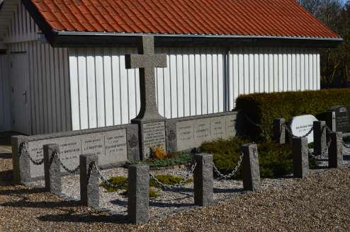 Memorial for the RAF airmen