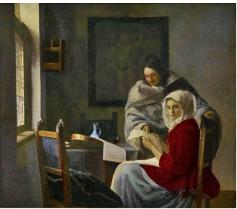 Frick Vermeer 11