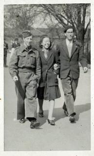 Sammen med Ruth og Benned