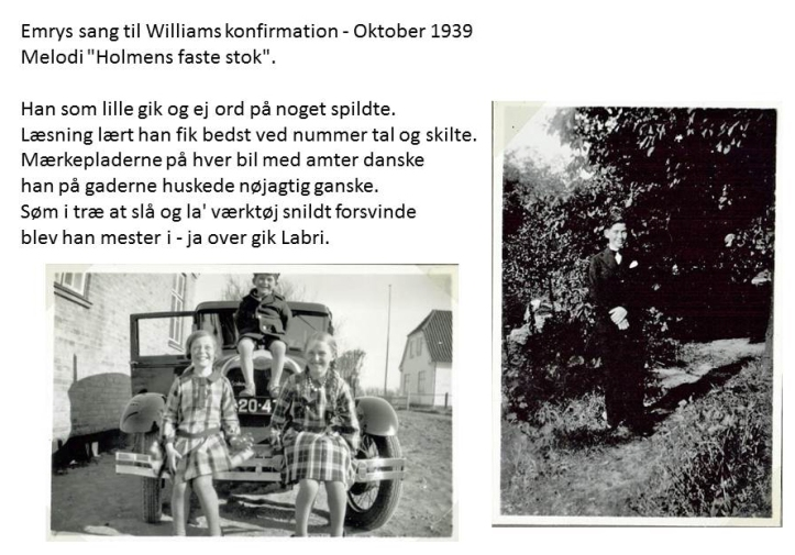 Konfirmationssang William