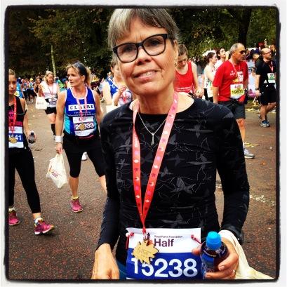 Medalje efter velgennemført løb