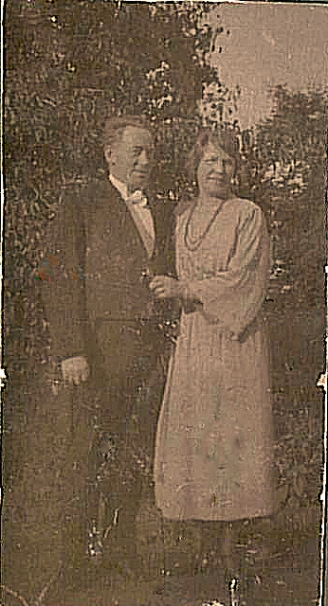 Harald og Agnethe klar til fest