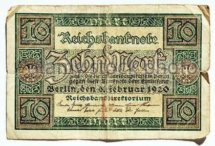 ten-reichsmark-1920-germany