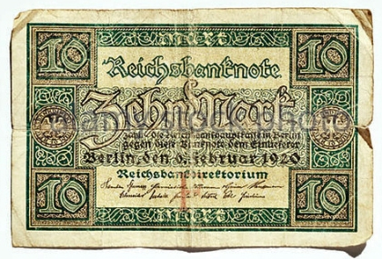 ten-reichsmark-1920-germany