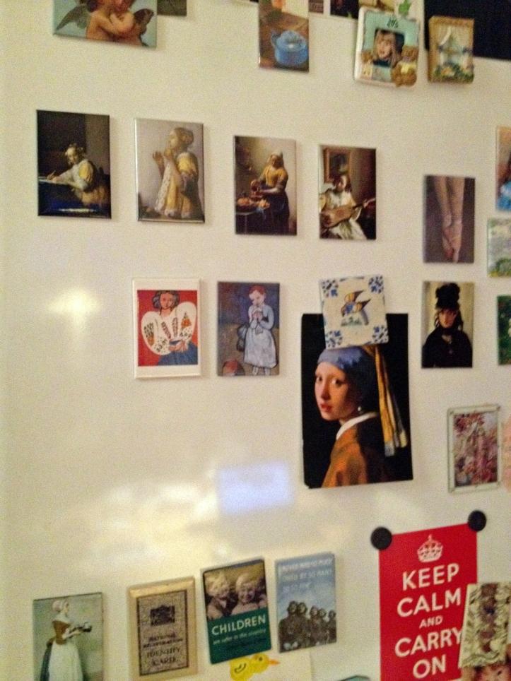 Vermeer på køleskab