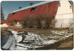 Den gamle farm bygning