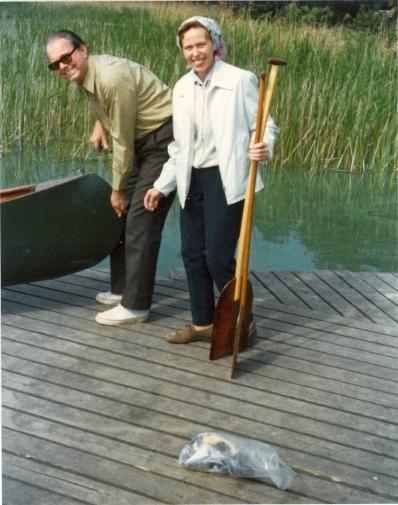 Ankomst til Bagsvær sø