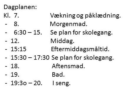 dagplanen