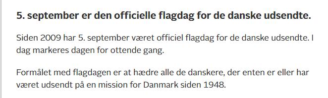 nyheder Flagdah