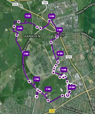 10-km-ruten
