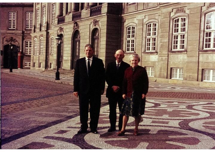 Far og Mor på Amalienborg med Ejvind