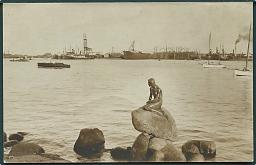 danmark-den-lille-havfrue-ved-langelinie-i-koebenhavn-fotokort-no-1425