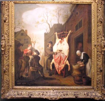 Slagtning af gris Holland