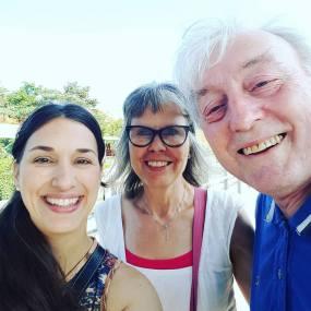 Leah, Maria og Henry