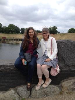 Leah og Maria - Gefion