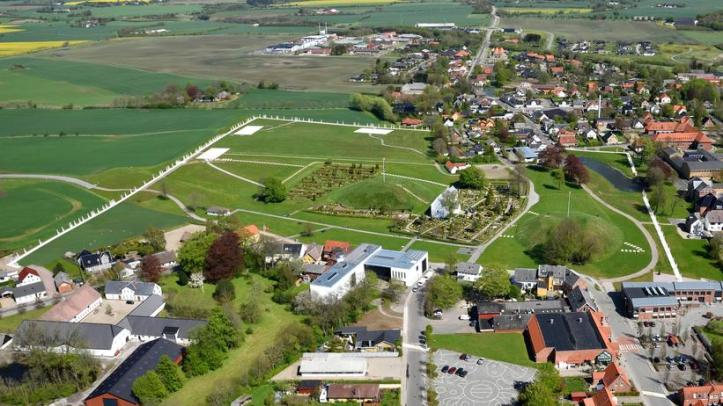 aerial-view-of-jelling