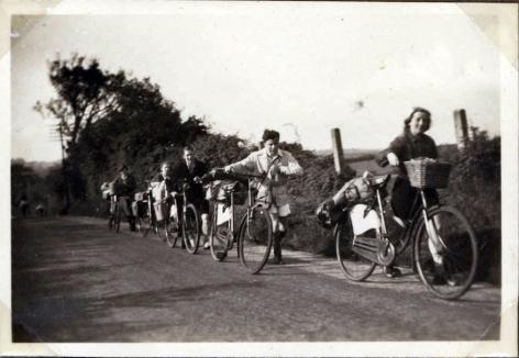 Cyklerne trækkes