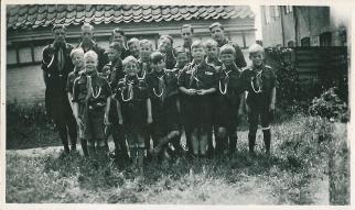 Aage og hans spejderkammerater