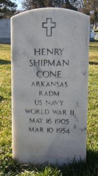 Henry Shipman Cone - Arlington kirkegård