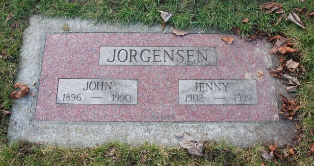 Jenny Sigrid headstone