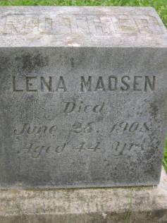 Lena Madsen 1908