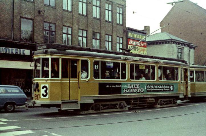 Linie 3 HCOrstedsvej.Apr.1967