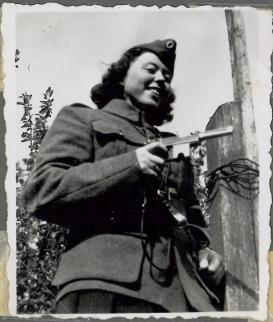 Ruth med farlig skyder