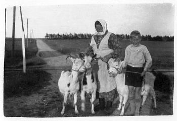 Vogterhus Farmor Inge Marie og feriedreng Marik