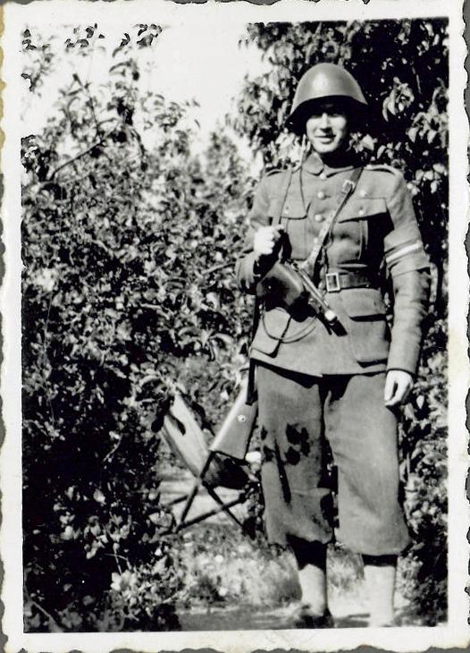 William udklædt som frihedskæmper